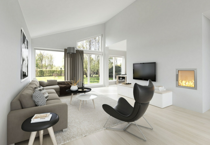 living room decoration modern living area spice up cool armchair hearth