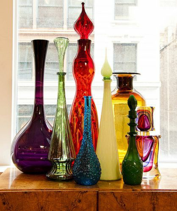 Light and color color design meaning colors vases