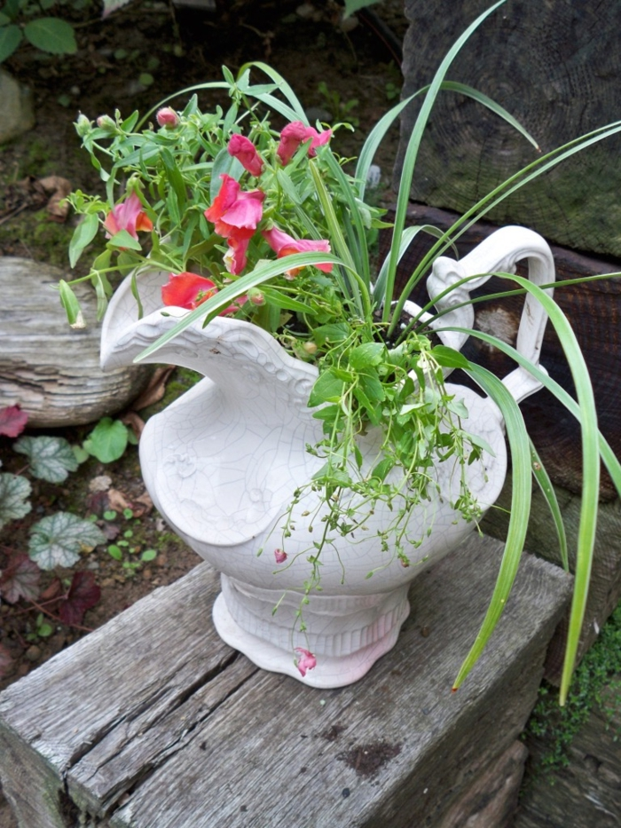 garden beautify gardening ideas cool plant container