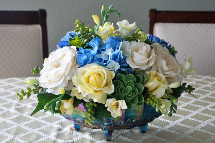 decoration floral table decoration ideas bowl