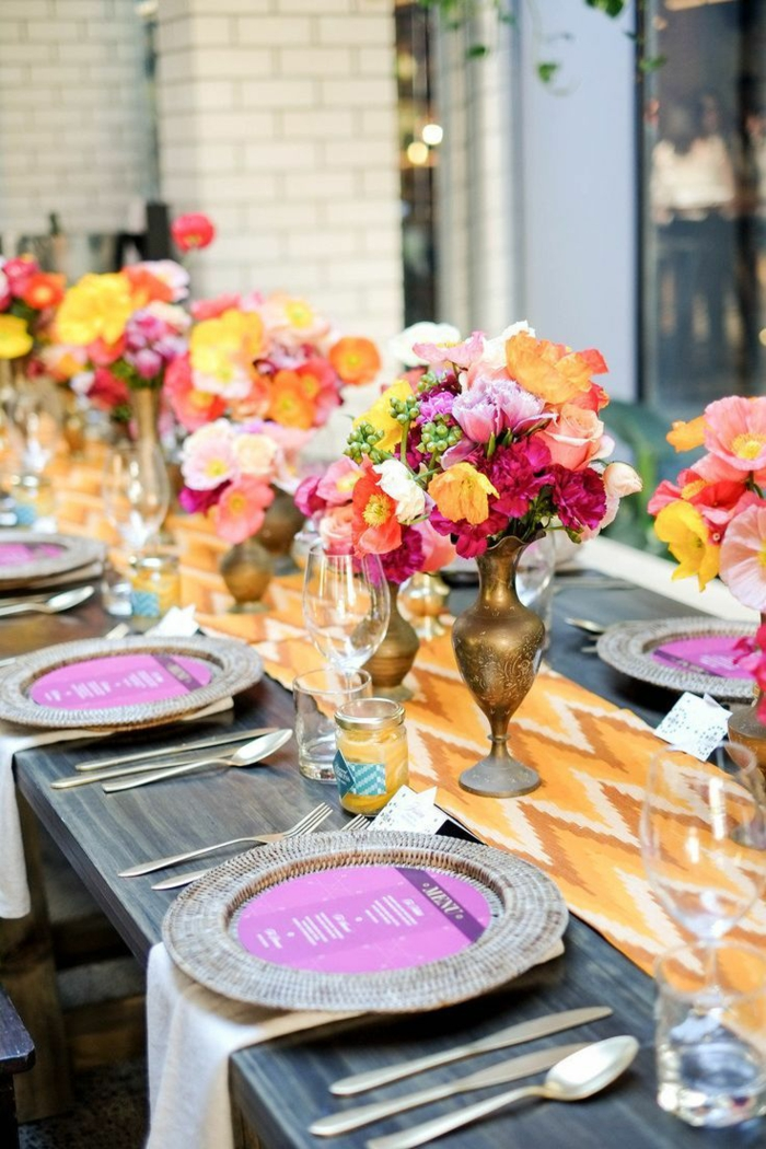 50 Ideas For Table Decoration Garden Party Among Friends