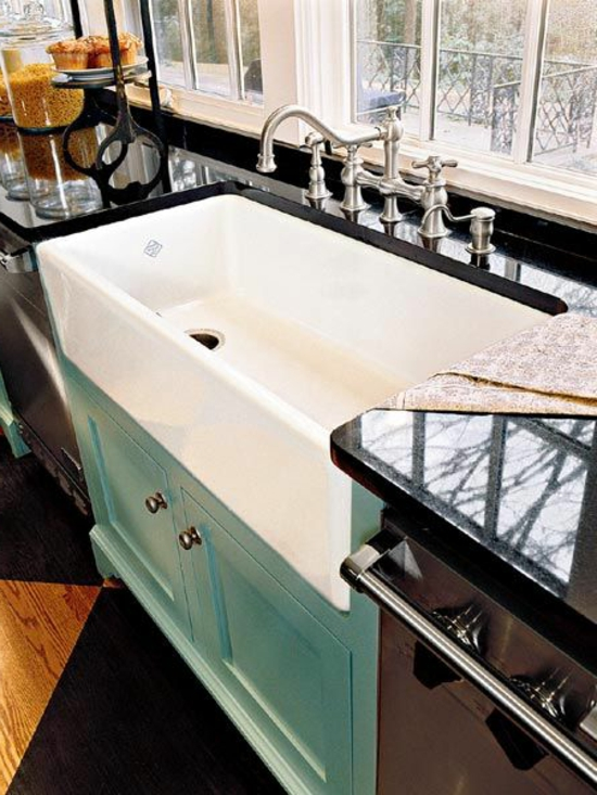 modern kitchen set up kitchen sink basin white vanity unit