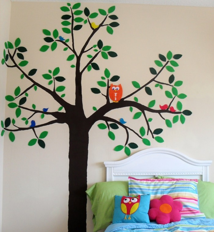 beautiful wall decals deco ideas nursery tree