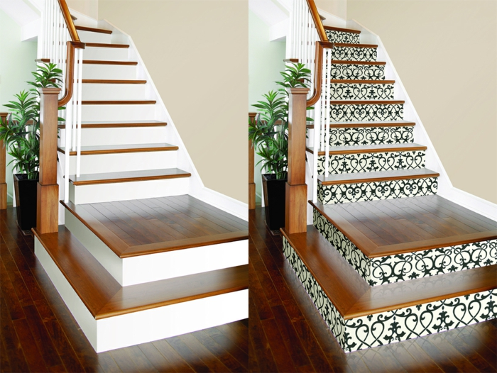 beautiful wallpaper wallpapers decorate stairs