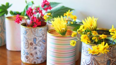 Photo of Deco with flowers – 34 ideas how to decorate with flowers