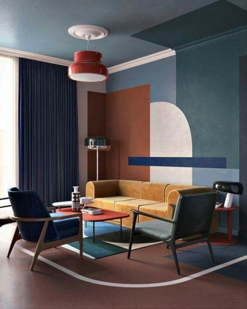 blue and beige wall colors ideas