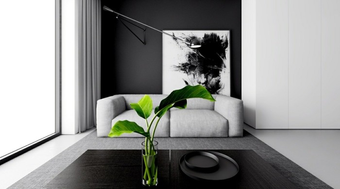 Residential Colors Wall Colors Trends Interior Design Color Black Chiffon Table