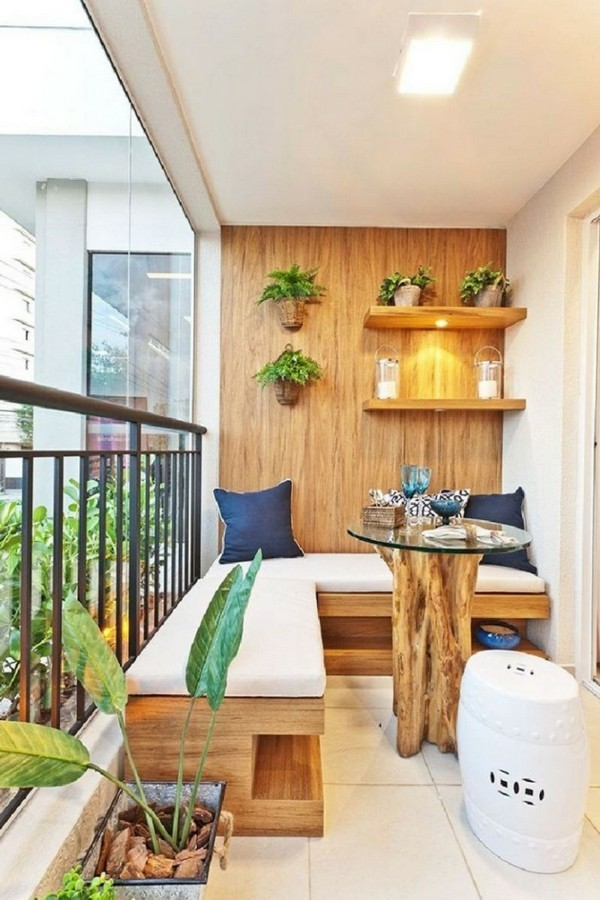 living ideas small terrace shape decoration ideas