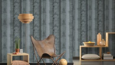 Photo of Unusual wallpapers make rooms appear full of character