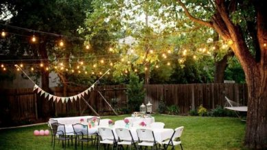 Photo of Outdoor Wedding – When the wedding takes place in the garden …