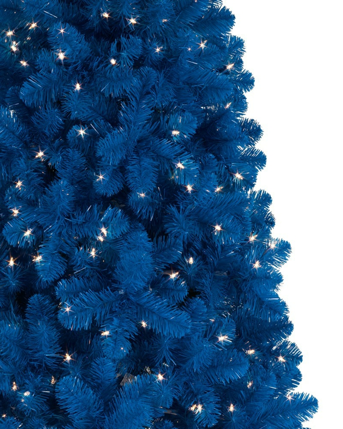 Christmas tree artificially artificial Christmas tree test by wall wall stickers blue tree
