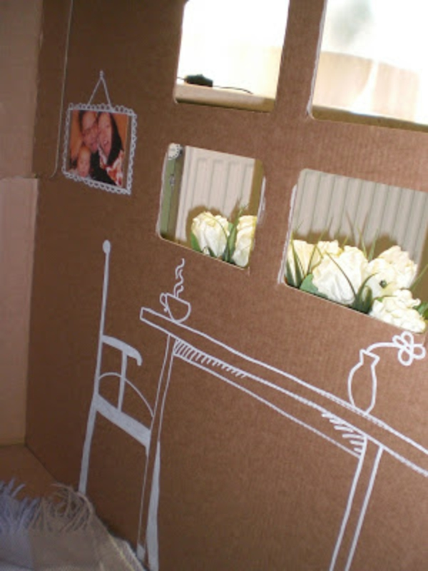 cardboard house ikea playhouse carton