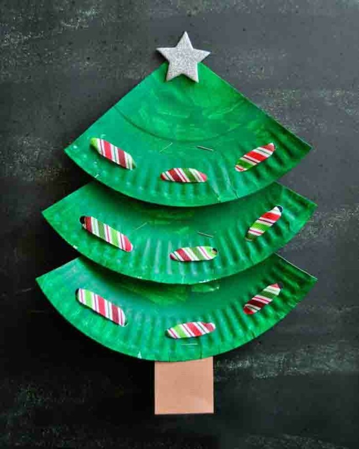 make christmas out of reused materials