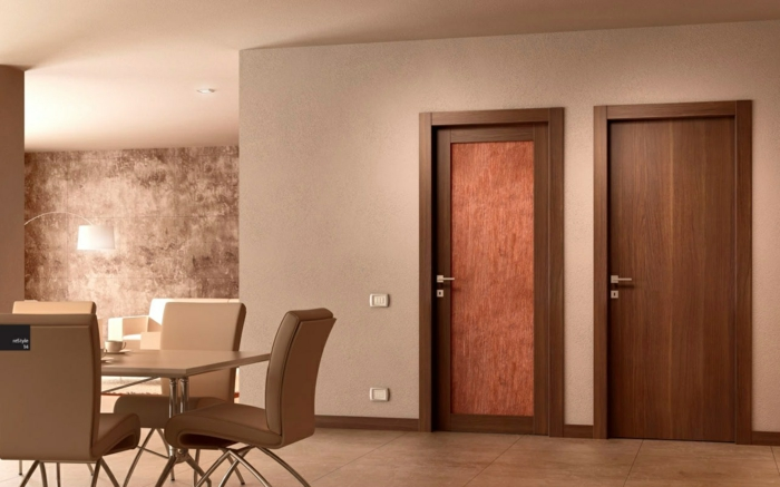 glass doors interior furnishing ideas apartment doors models