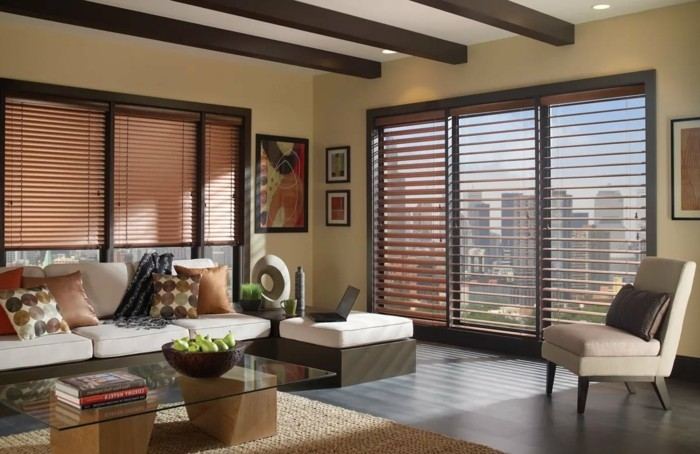 living ideas living room view and sunshade ideas