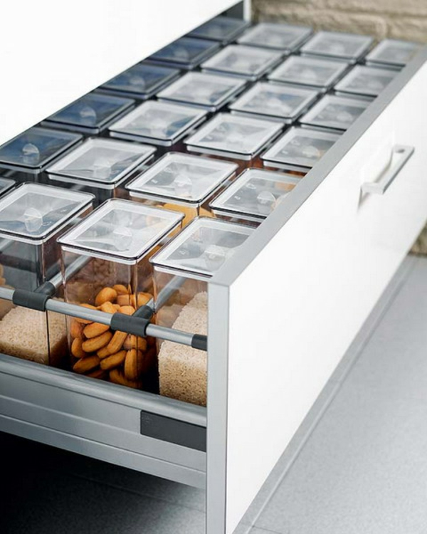 practical ideas Organization of kitchen drawers spices