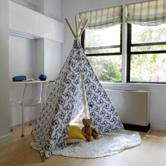tipi tent itself build for the youth room