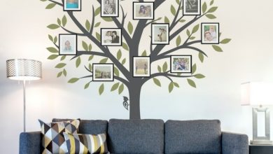 Photo of 35 wall decals tree that bring a touch of nature home