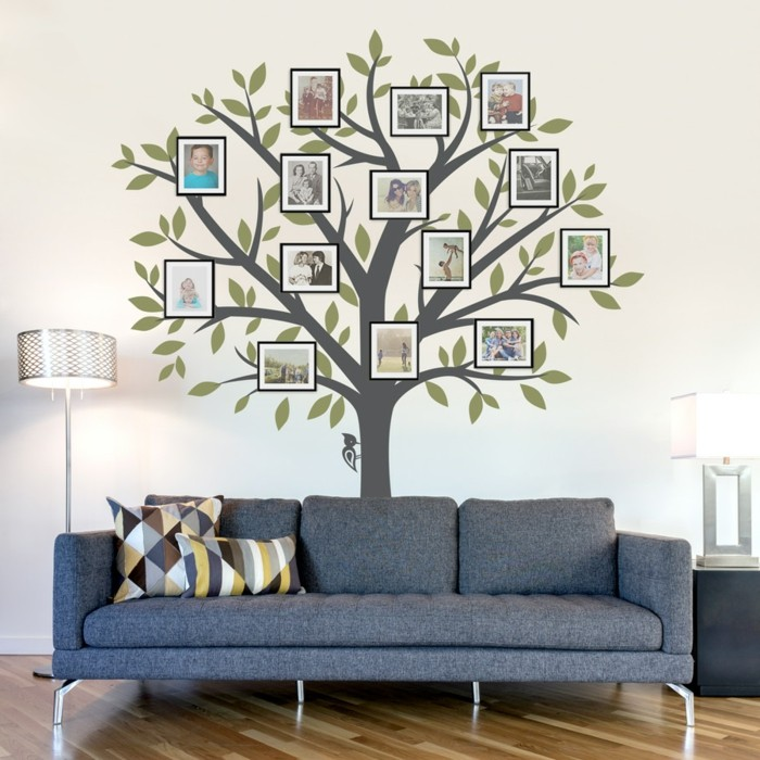 wall decals tree living room wall deco ideas photos