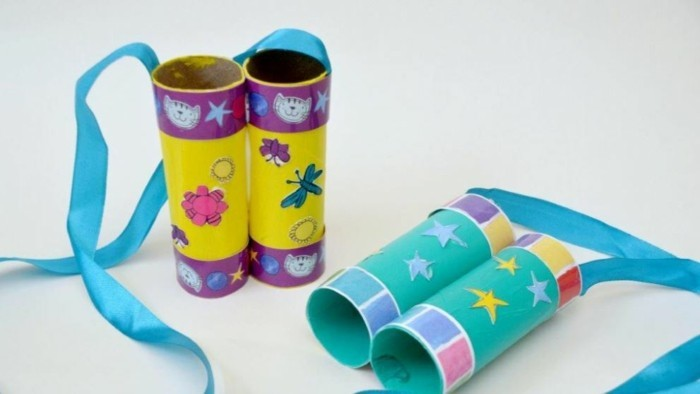 diy ideas decorating ideas tinker with kids binoculars2