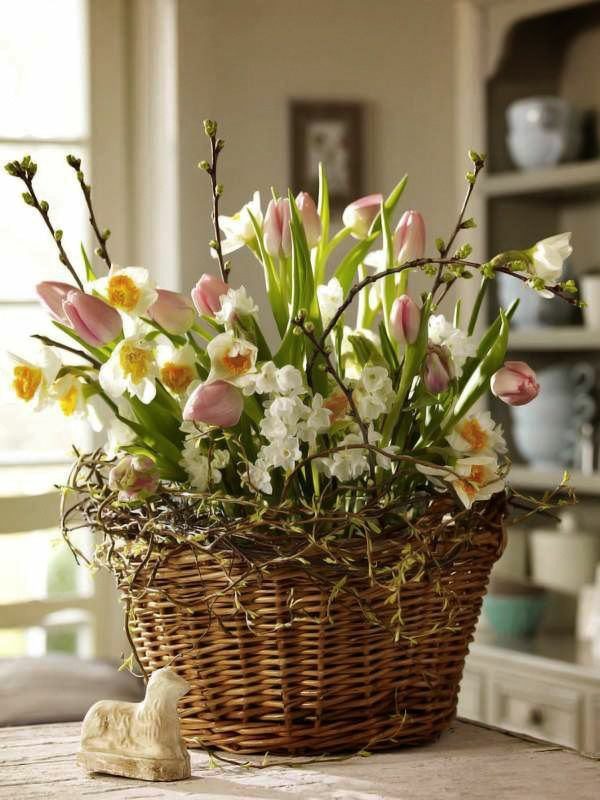 spring flowers pictures easter decoration ideas with flowers tulips