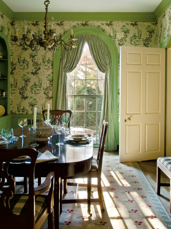 wallpaper country style diner fashion candelabrum