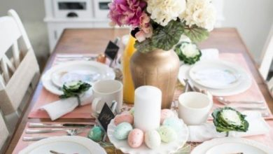 Photo of Easter table decoration – charming ideas with practical value