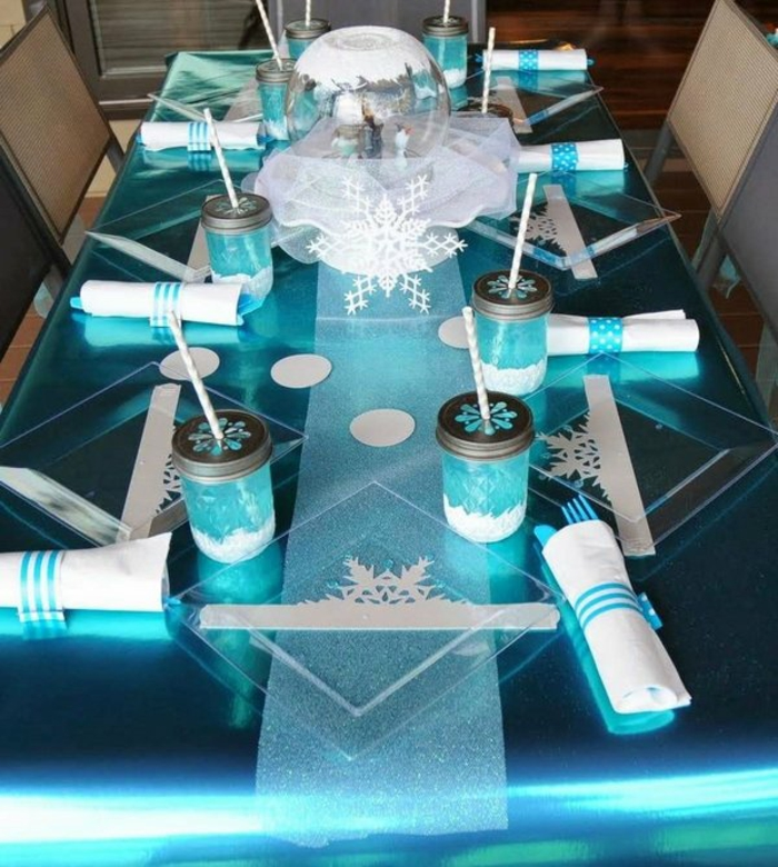 table decoration marine ice queen
