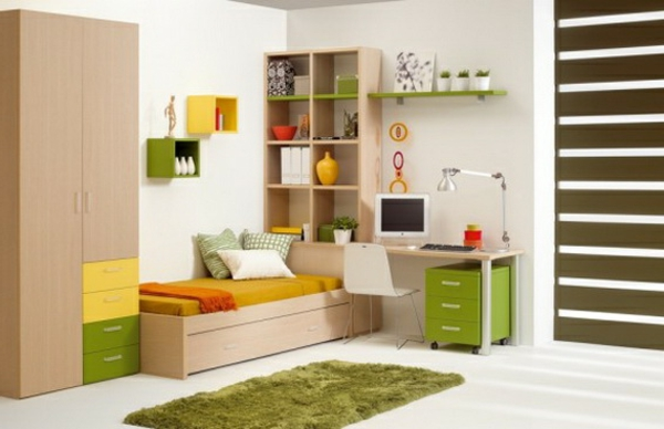Design of youth rooms fresh ideas