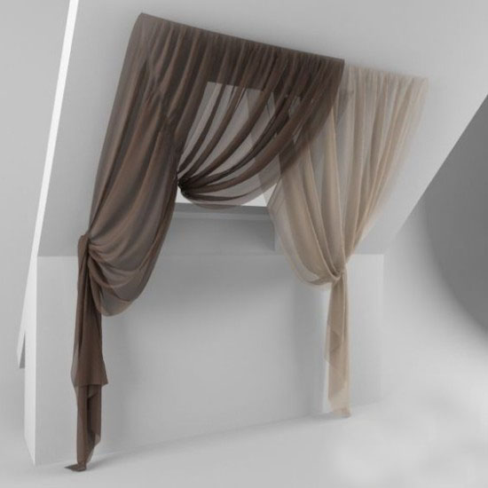 drapperien-in-white-and-gray-window curtains