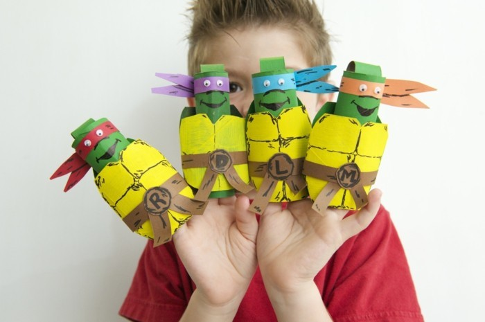 DIY Ideas Decorating ideas with children tortoise