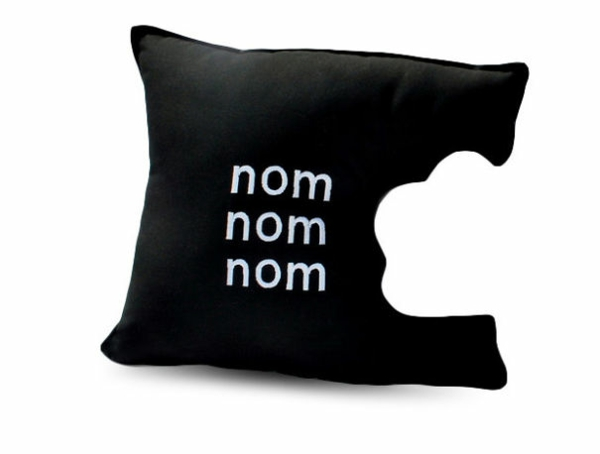 Creative Throw Pillows Biting Pillows