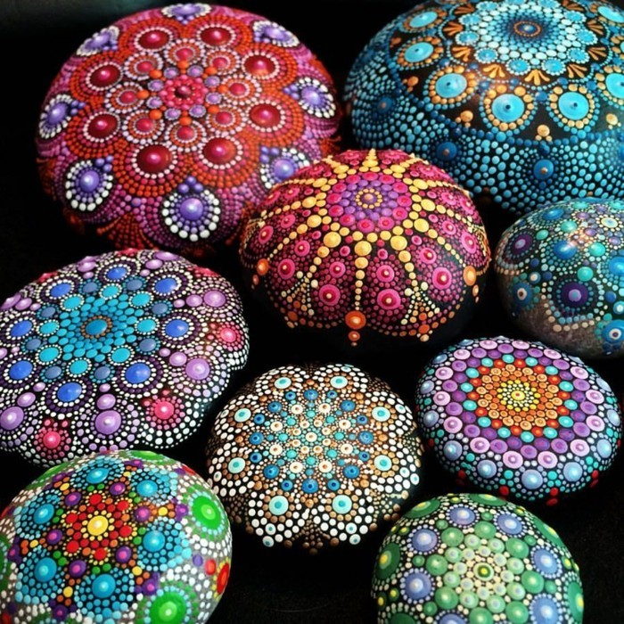 manala pattern stones you paint