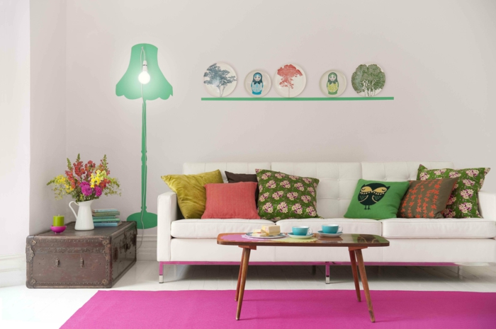 living ideas living room deco accessories wall stickers