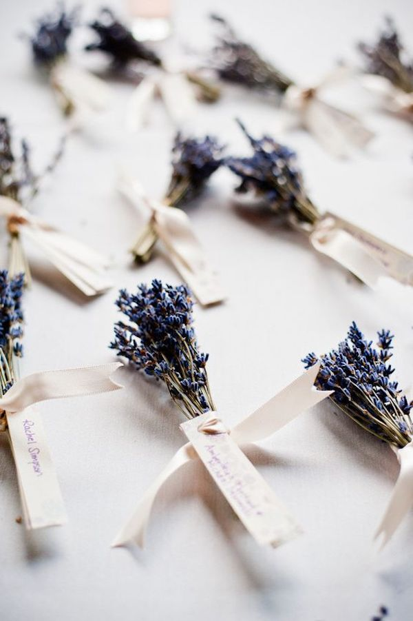 lavender as a deco