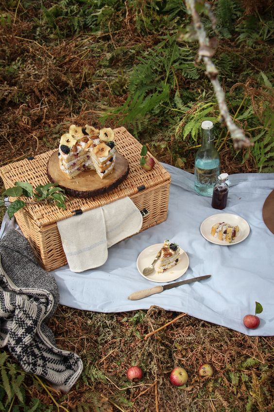 picnic ideas with a basket