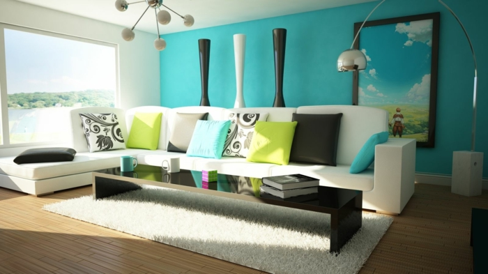 color design living room feng shui colors room design