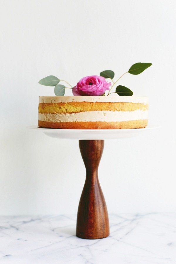 Cake stands themselves make wood