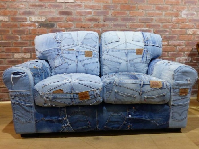 soft cover animals chic patchwork red upholstery pads jeans