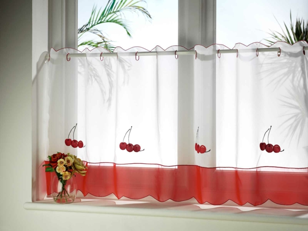 attach curtains to half of the window