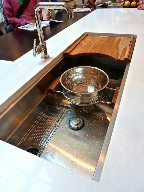Set up the modern kitchen - 20 unique kitchen sinks ...