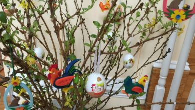 Photo of Easter decoration – Easter eggs tree for inside and outside and other cool Easter decoration ideas
