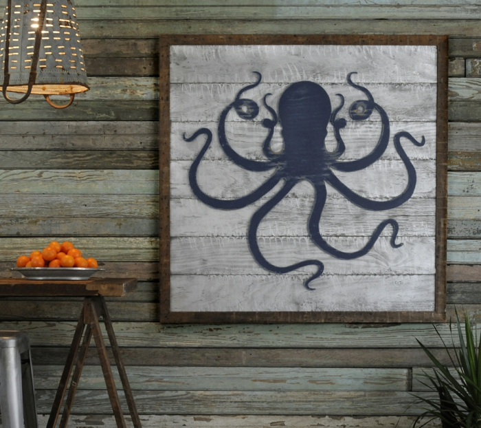 furnishing examples maritime decoration octopus
