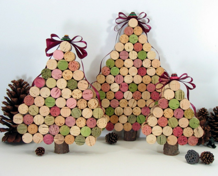 crafting ideas christmas beautiful deco ideas fir tree crafts acorns