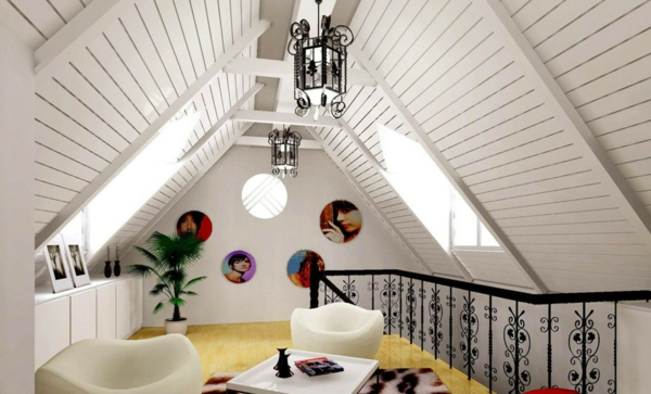 white ceiling paneling wood living ideas
