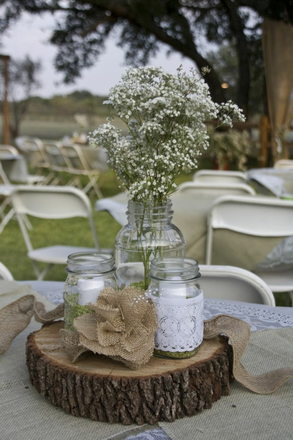 tree trunk decoration diy projects table decoration ideas rustic
