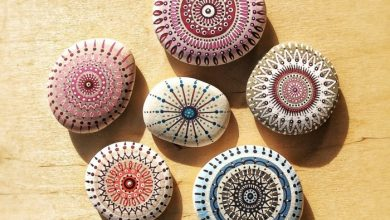 Photo of Painting stones and creating mandala pictures – 42 mystical examples