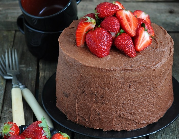 pie decorating chocolate cake decorating ideas fruits strawberries