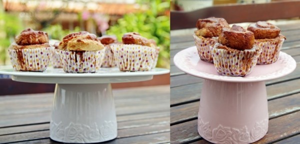 Cupcake stand porcelain dishes