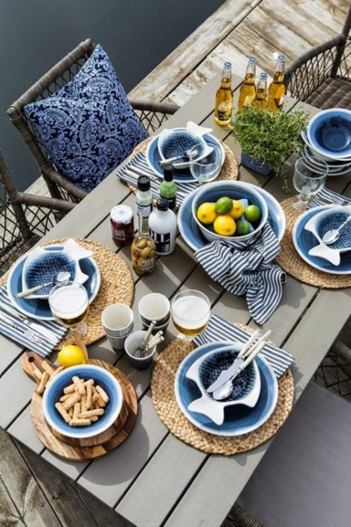 make table decoration summer table decoration yourself